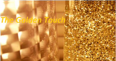 A Golden Voice Answering Service Logo
