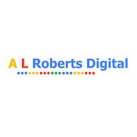 A L Roberts Digital Logo