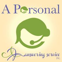 A Personal Answering Service Logo