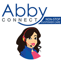 Abby Connect Live Receptionists Logo