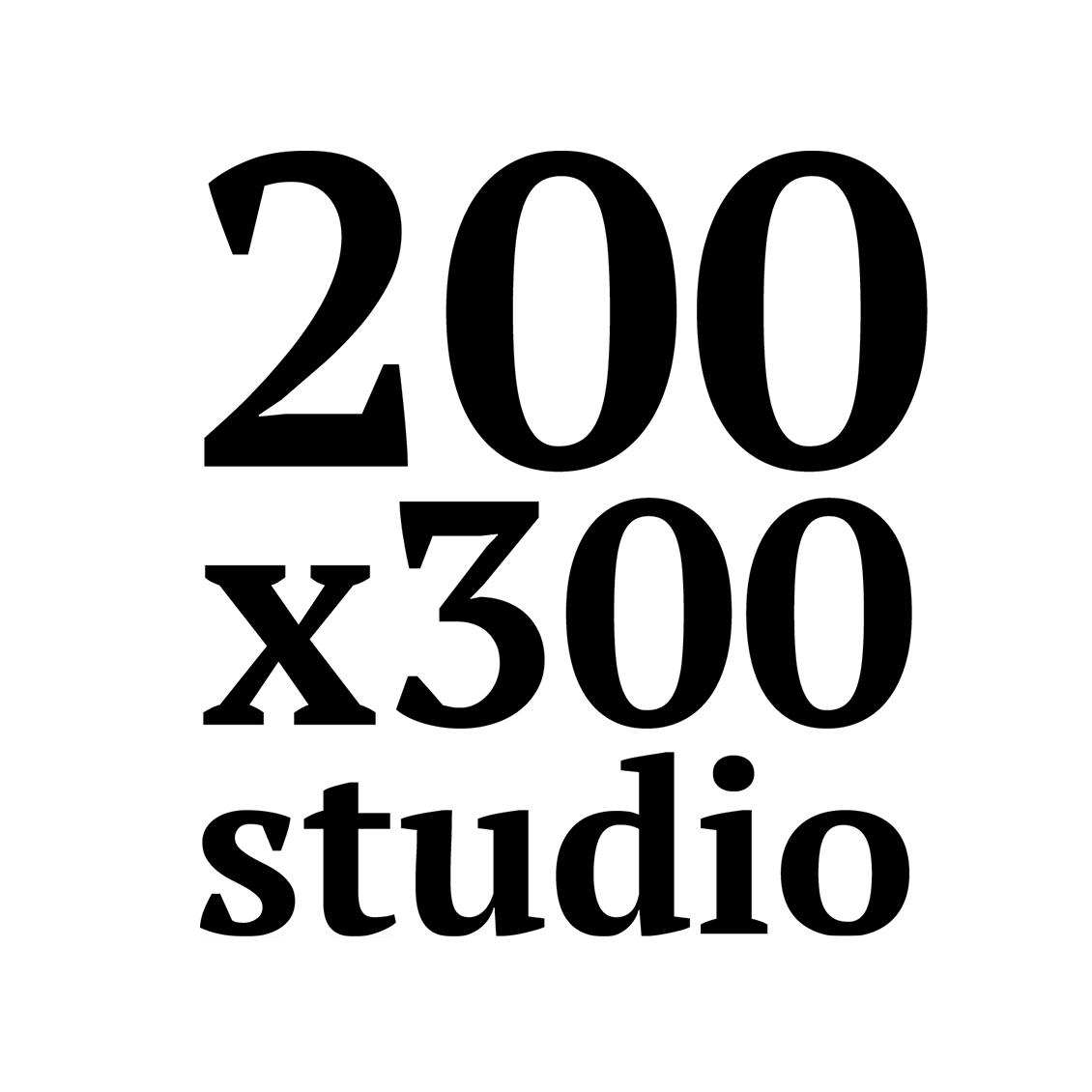 200x300 studio Logo