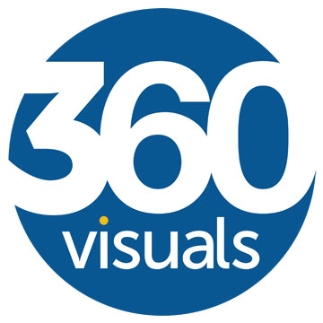 360 Visuals Logo