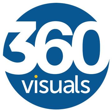360 Visuals Logo