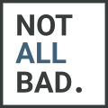 notallbad. Logo