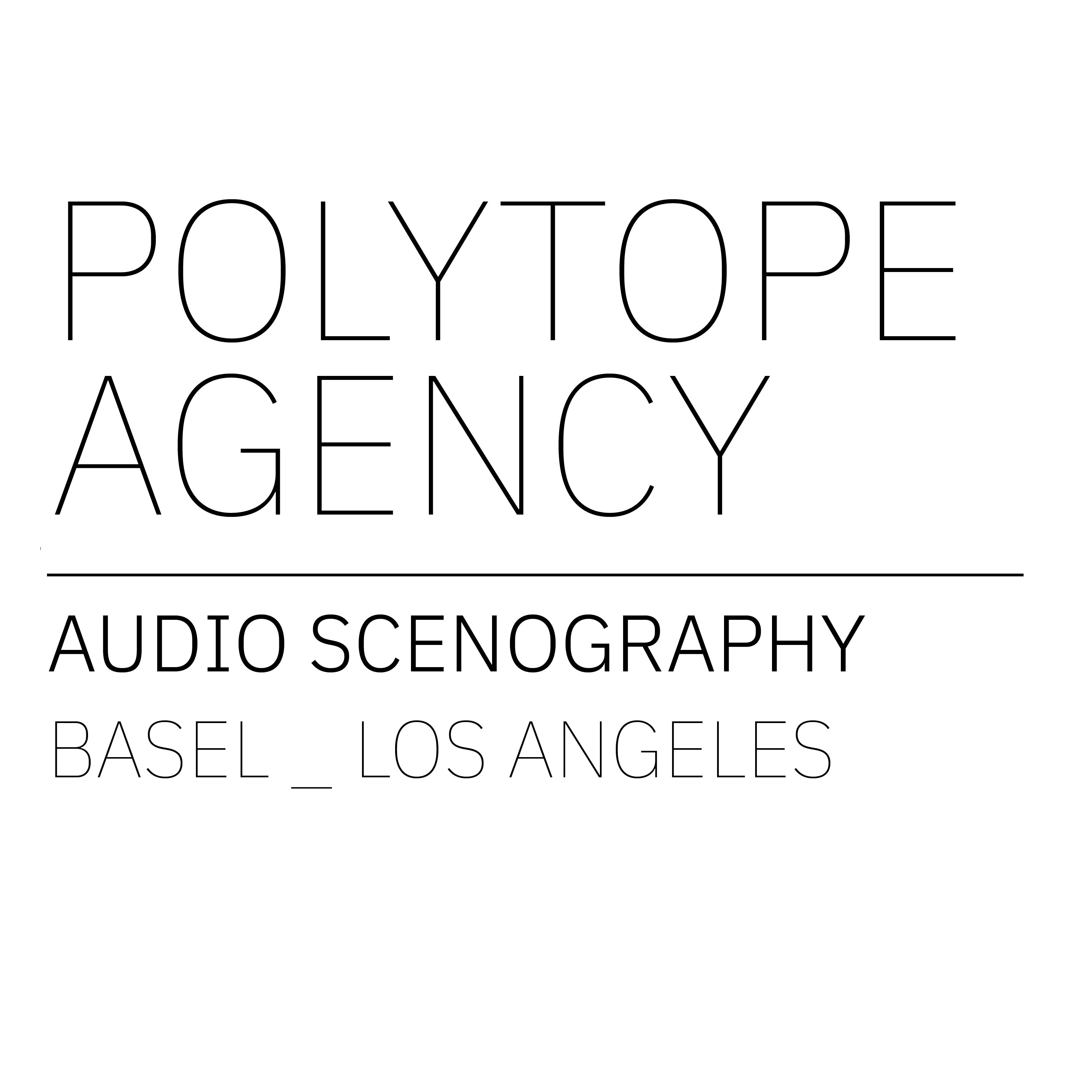 Polytope Agency - Audio Scenography Logo