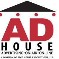 Ad House Advertising Logo