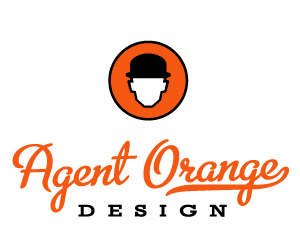 Agent Orange Design Logo