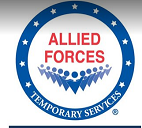 Allied Forces Temporary Services Logo