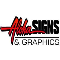 Aloha Signs & Graphics logo