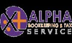 Alpha Bookkeeping & Tax Services Logo