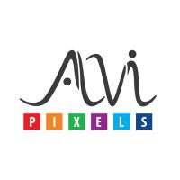 Alvi Pixels Design Studio Logo