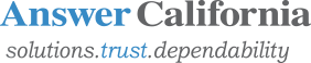 Answer California Logo