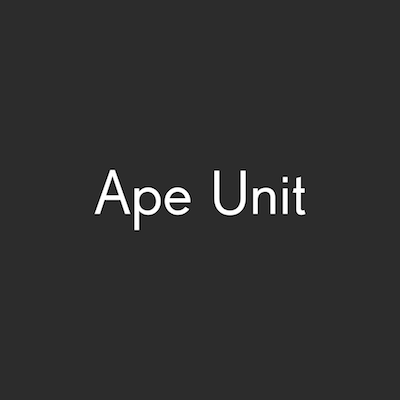Ape Unit Logo