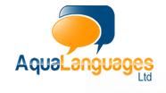 Aqua Languages Logo