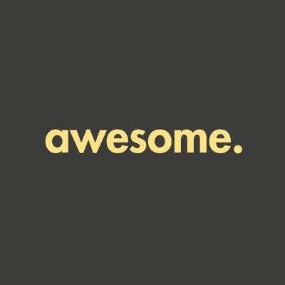awesome. Logo