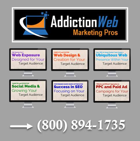 Addiction Web Marketing Pros logo