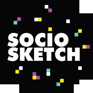 Socio Sketch Media Logo