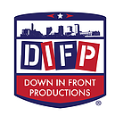 Down in front Productions Logo