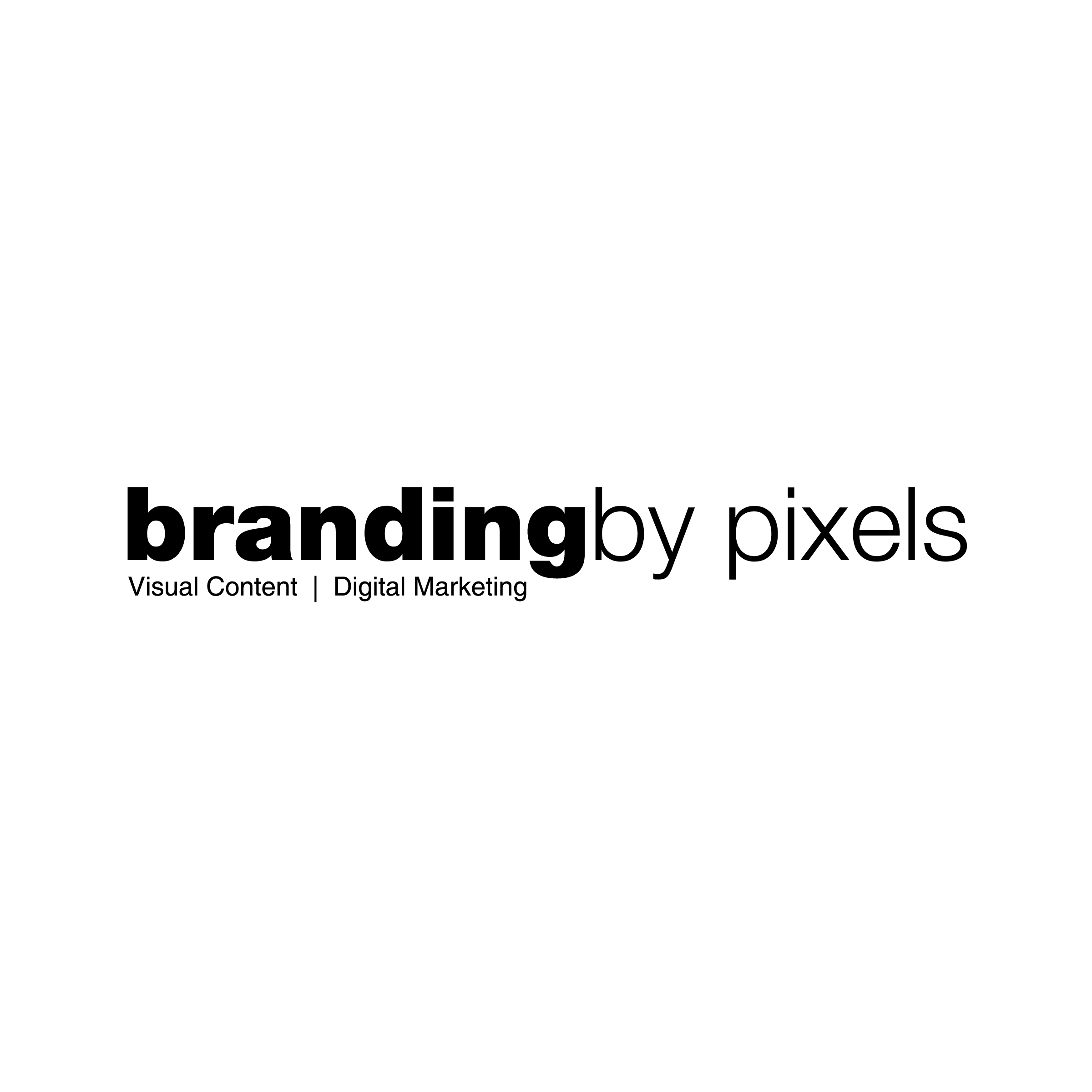 Branding by Pixels Logo