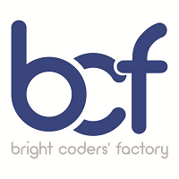 bright coders factory Logo