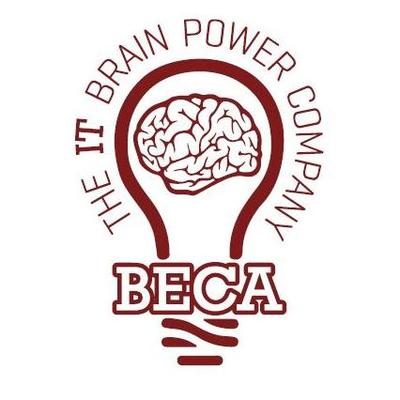 BECA, The IT Brain Power Company Logo