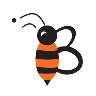 Bee On Track Logo