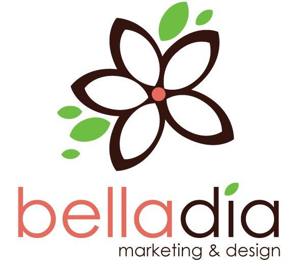 Belladia Marketing and Design Logo