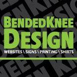 Bended Knee Design Logo