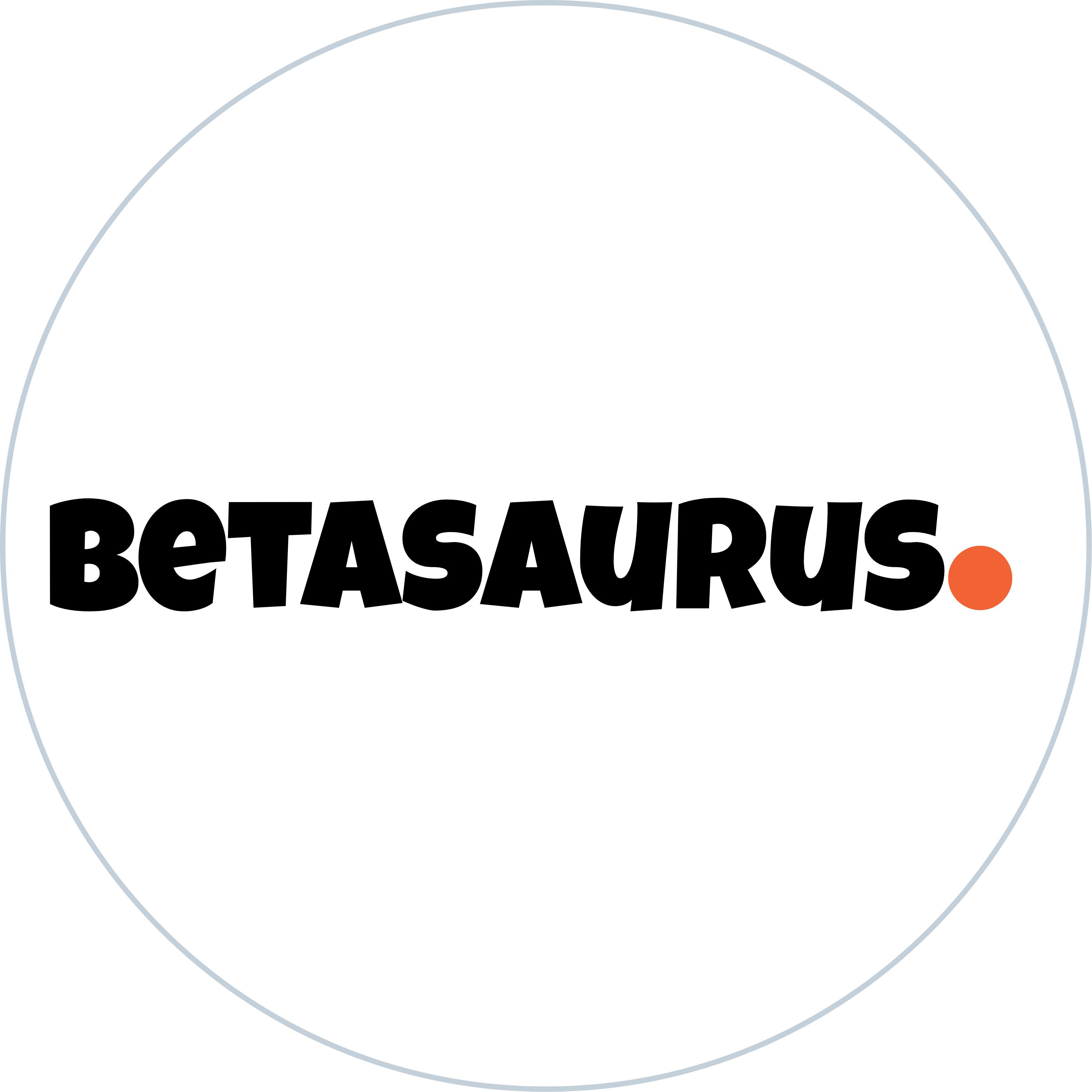 Betasaurus Logo
