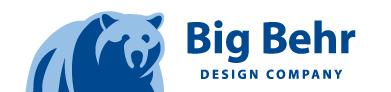 Big Behr Design Co logo