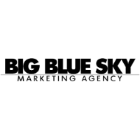 Big Blue Sky Marketing Agency Logo