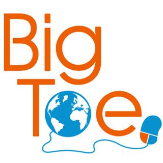 Big Toe Web Design Logo