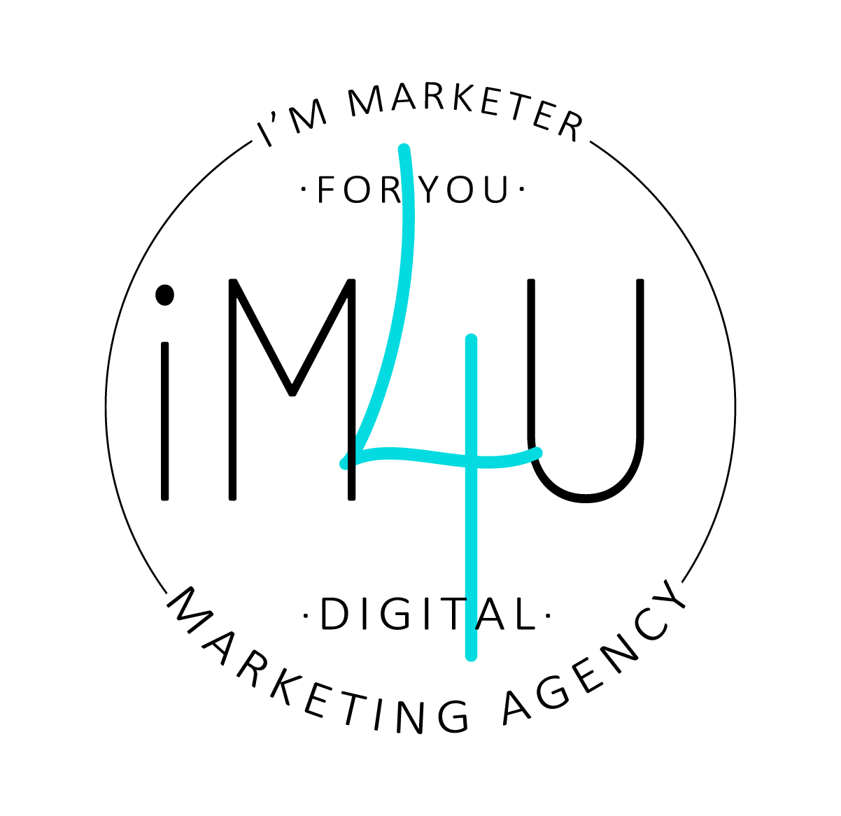 iM4U DIGITAL MARKETING AGENCY Logo