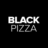 Black Pizza Logo