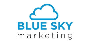 Blue Sky Marketing Logo