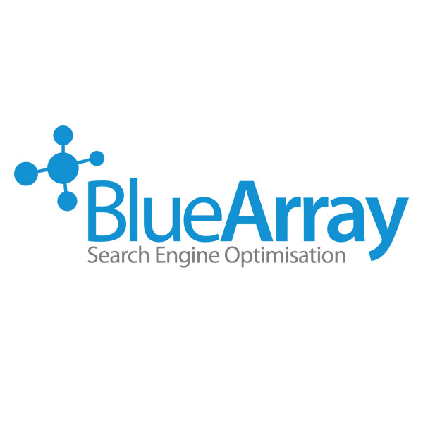 Blue Array SEO Logo