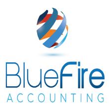BlueFire Accounting Logo