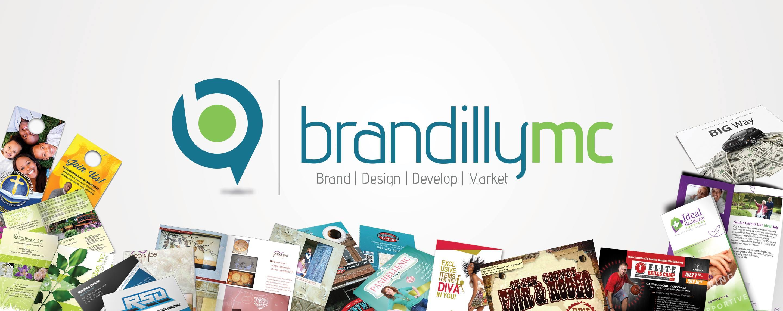 BRANDilly Marketing + Creative Logo