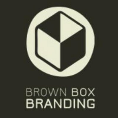 Brown Box Branding Logo