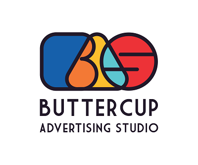 Buttercup Advertising Studio - Graphic Designing Company Logo