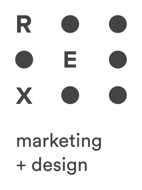REX Marketing + Design Inc. Logo