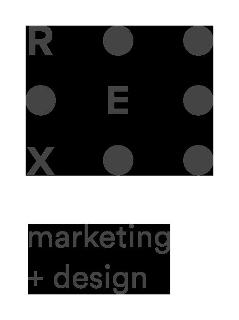 REX Marketing + Design Inc. Logo