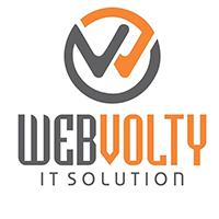 Webvolty IT Solution Logo