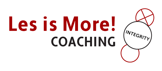 Les is More! Coaching Logo