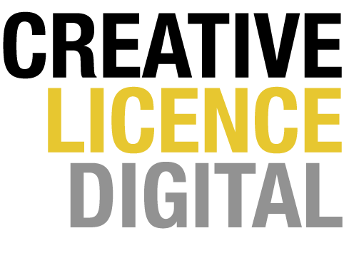 Creative Licence Digital (Out of Business) Logo