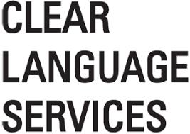 CLEAR LANGUAGE SERVICES