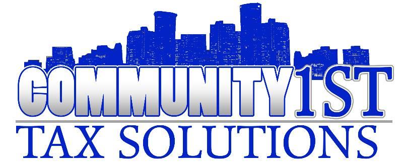 Community 1st Tax Solutions logo