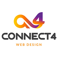 Connect 4 Web Design Logo