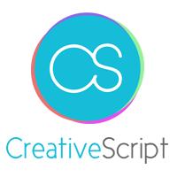 CreativeScript Web Design Logo