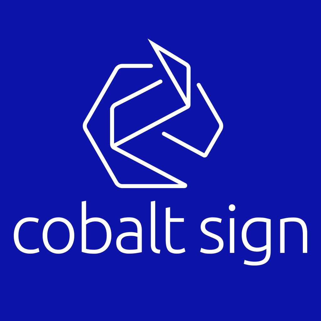 Cobalt Sign Logo